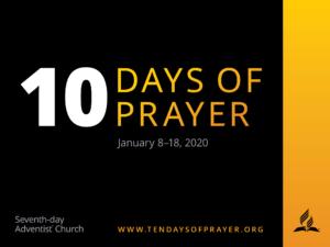 10 Dagen van Gebed