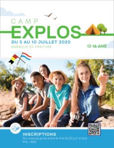 Camp Explos (COMPLET) @ Centre ADEPS - La station de ski de Baraque de Fraiture | Vielsalm | Wallonie | Belgique